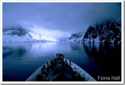 Kodak Alley in Antarctica