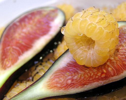 White Raspberries and Fig