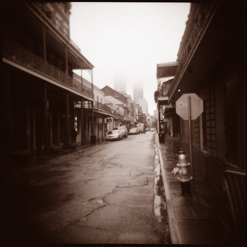 French Quarter Streetscape