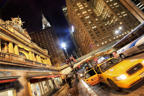 Off the Train and Into the Big Apple, Grand Central, NYC