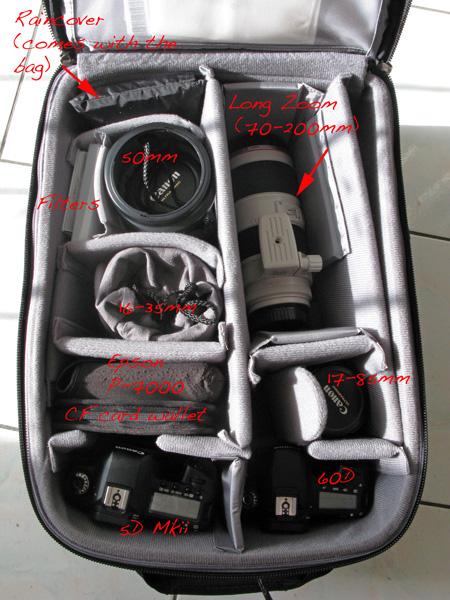 Gear in the ThinkTank Airport International V2 copyright Aloha Lavina.