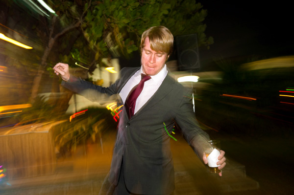 dance photo with flash
