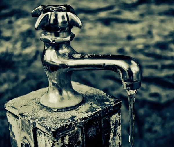 Cyanotype Faucet