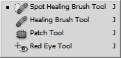 photoshop healing tools