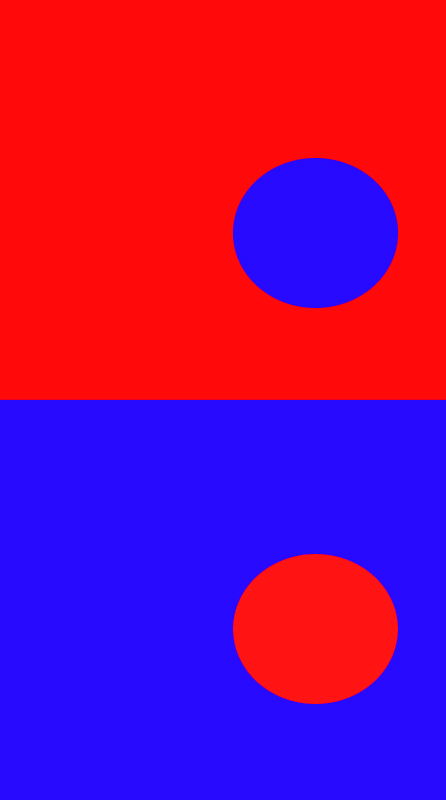 bluered