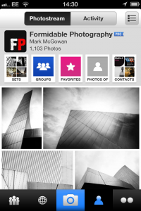 Flickr Mobile App