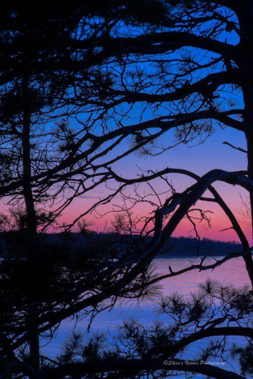 Decorated Sunset, Beaver Island