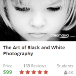 black and white udemy
