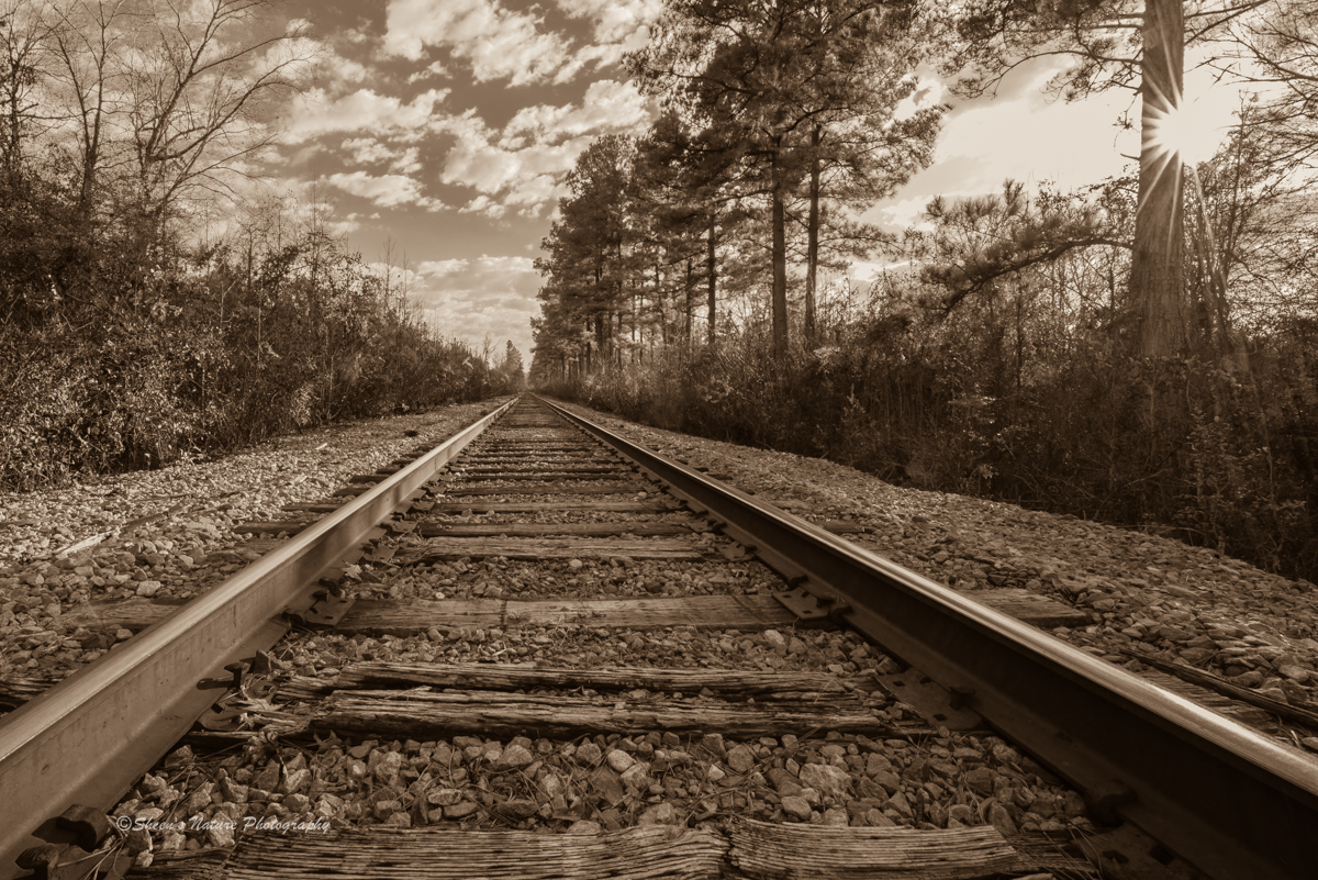 How to Photograph the Long, Winding Railroads