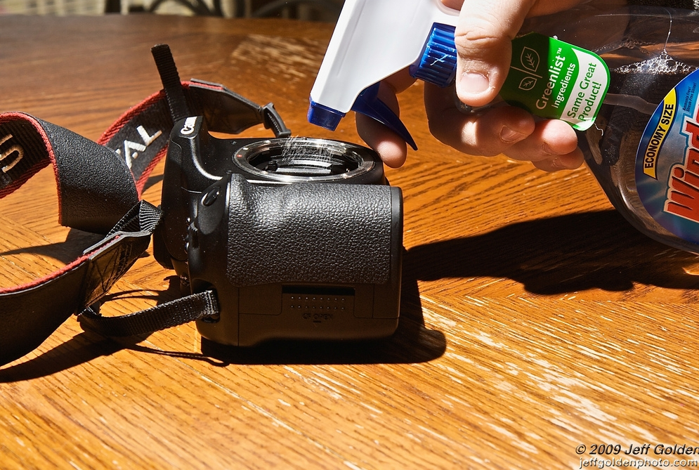 What to Do When There is Dust Inside Your Camera?