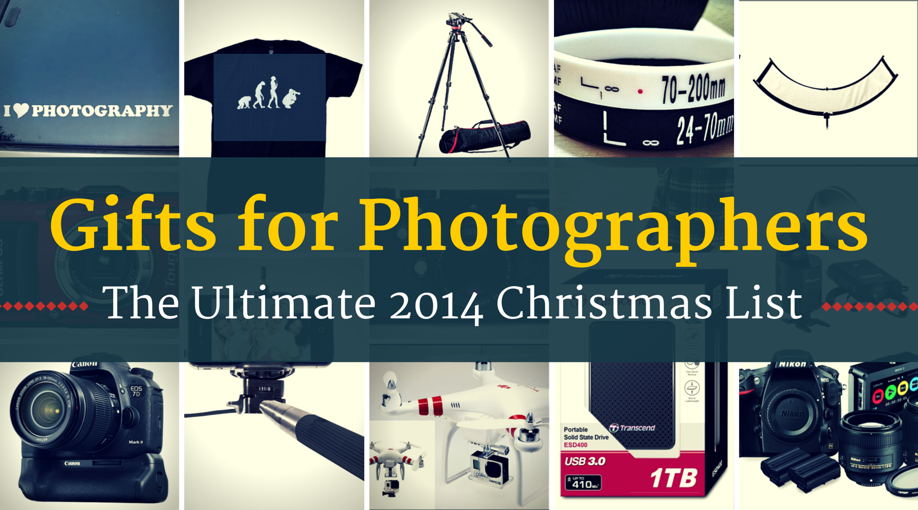 12 Cheap Gifts For Photographers (Plus 12 Expensive Ones)
