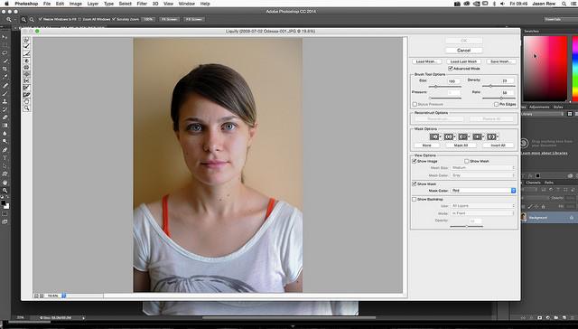 Photoshop Tips - Magazine cover
