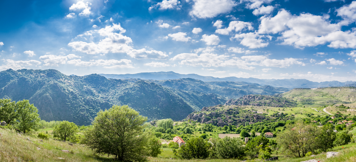 This is a 7 picture panorama. Each of those 7 images is an HDR image, that is 21 images in total. Took me around 30 seconds to shoot the image. And around 40 minutes to merge the HDR shots and then stitch them together. All done in Lightroom 6.