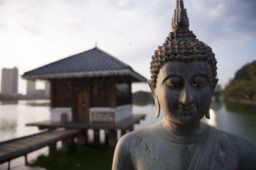 The Seema Malaka Temple in Colombo