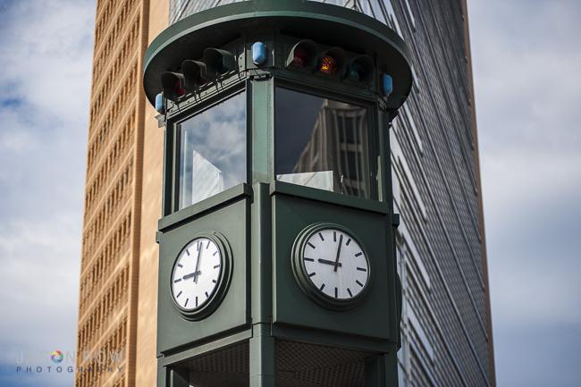 World's first traffic lights, Berlin