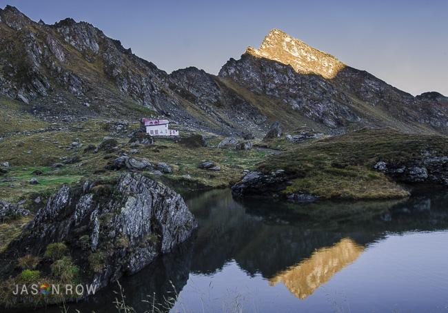 Top of the Transfăgărășan Pass