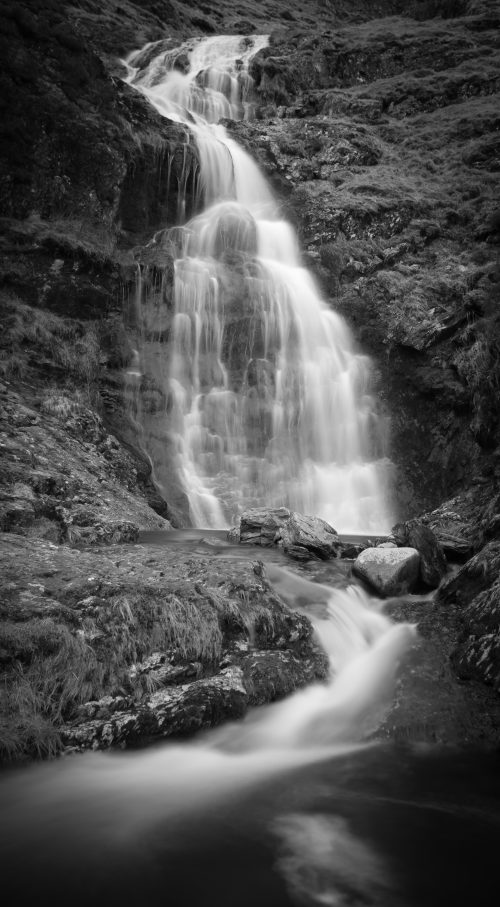 Waterfall In Newlands Valley