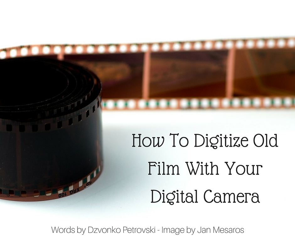 How To Digitize Old Film- Part One - The Setup (1)