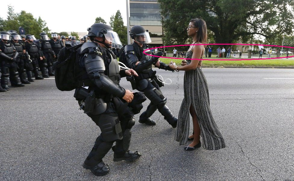 The Baton Rouge Protester - Jonathan Bachman - 02