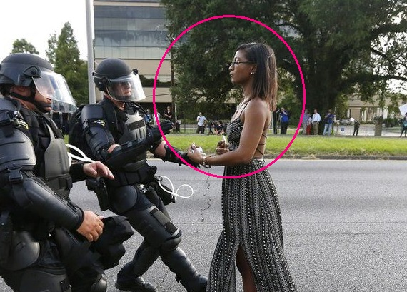 The Baton Rouge Protester - Jonathan Bachman - 03