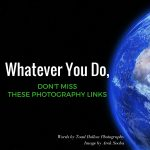 Whatever You Do, Don't Miss These Photography Links!
