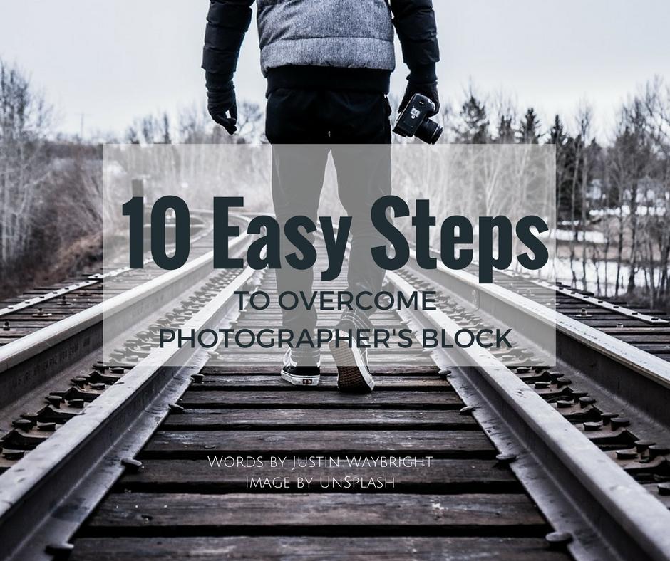 photographer's block