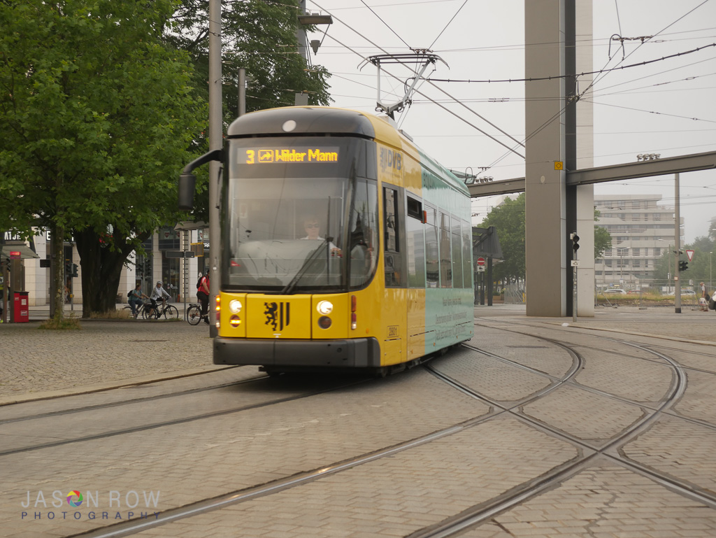 The city is well served by a modern transport system