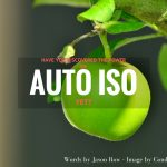 Have You Discovered The Power Of Auto ISO Yet-