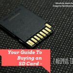 buying an sd card