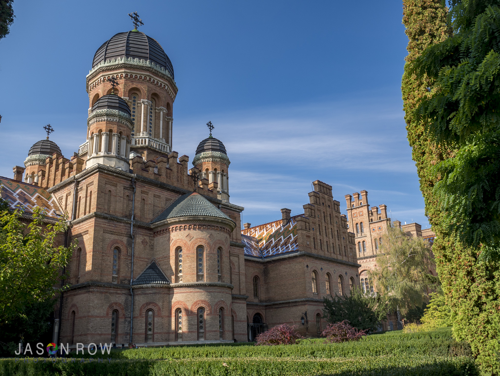 Who would not want to be educated at Chernivitsi University? By Jason Row Photography