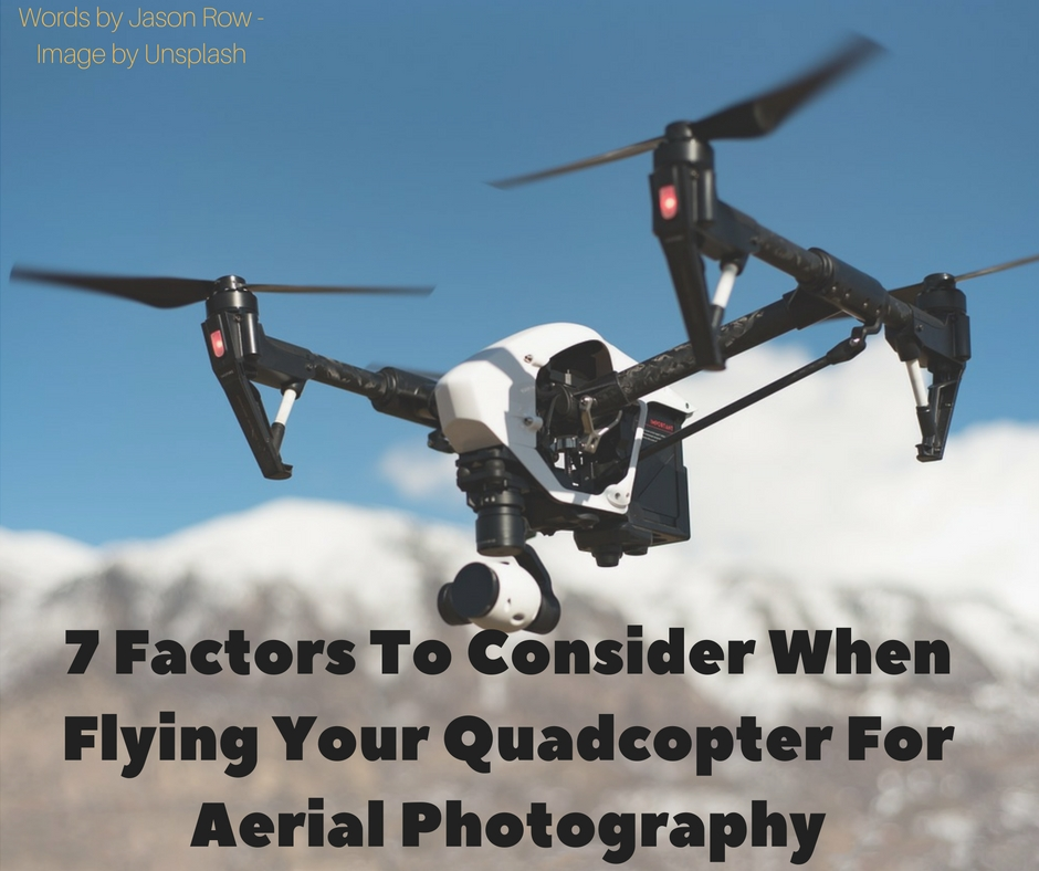 quadcopter for aerial photography