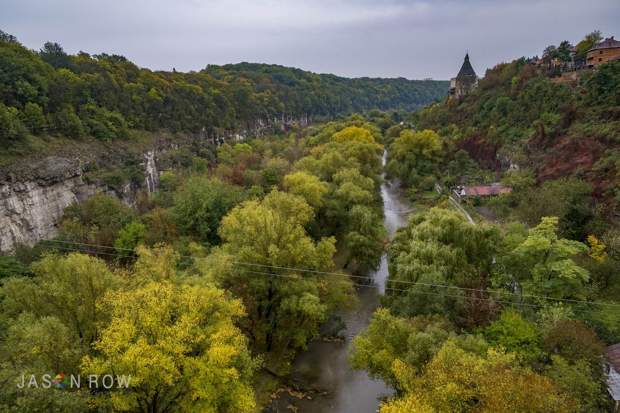 The gorgeous gorge of Kamianets-Podilskyi. By Jason Row Photography
