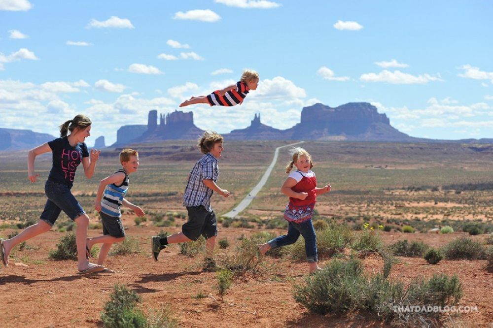 Wil Can Fly - Monument Valley