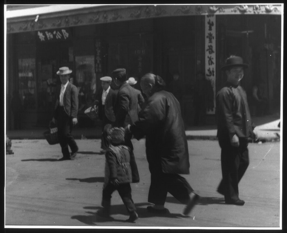 Street scene, Chinatown, San Francisco