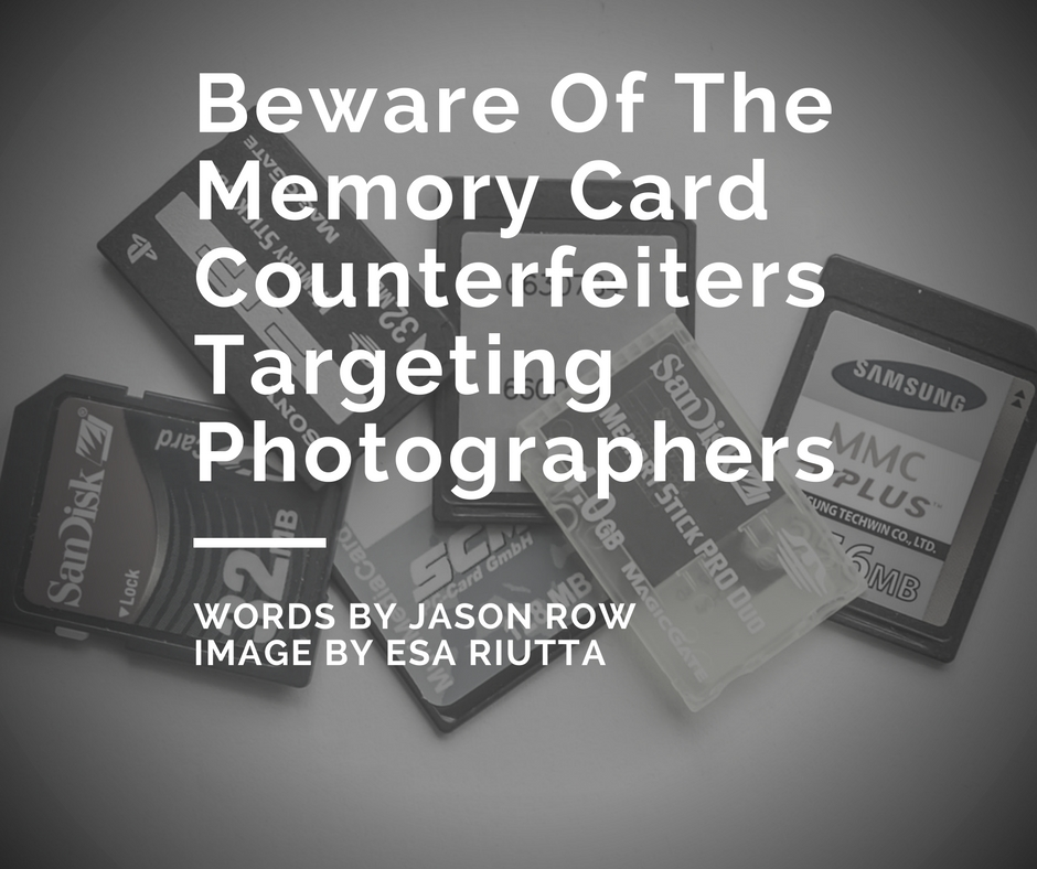 counterfeit memory cards