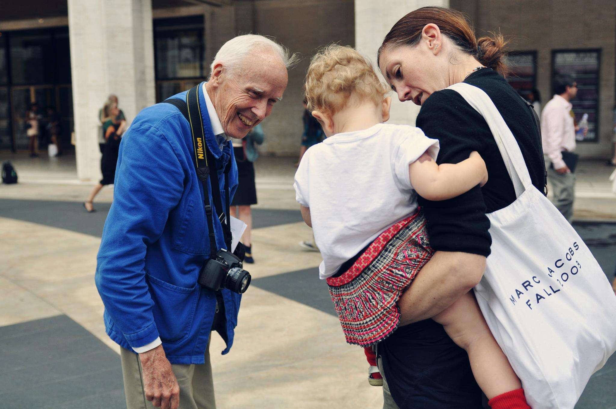 Bill Cunningham in 2012. By Jiyang Chen under CC BY-SA 3.0