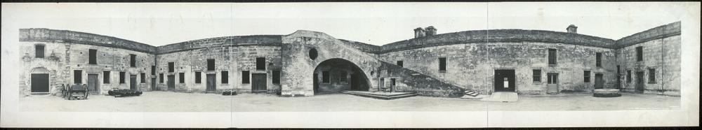 Court, Fort Marion, 1565, St. Augustine, Fla.