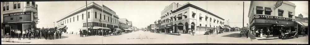 Main & Mill Streets, Porterville, California