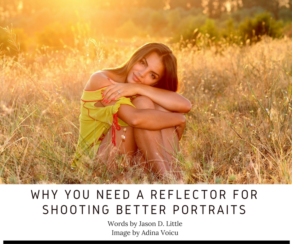 reflectors in portrait photography