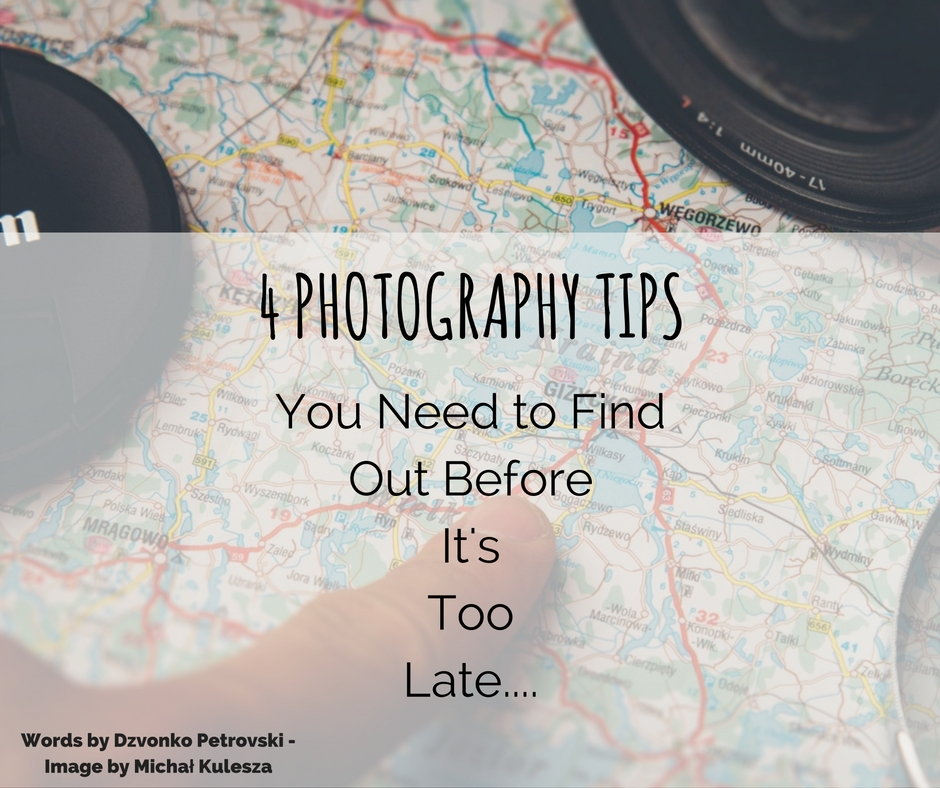 essential photography tips