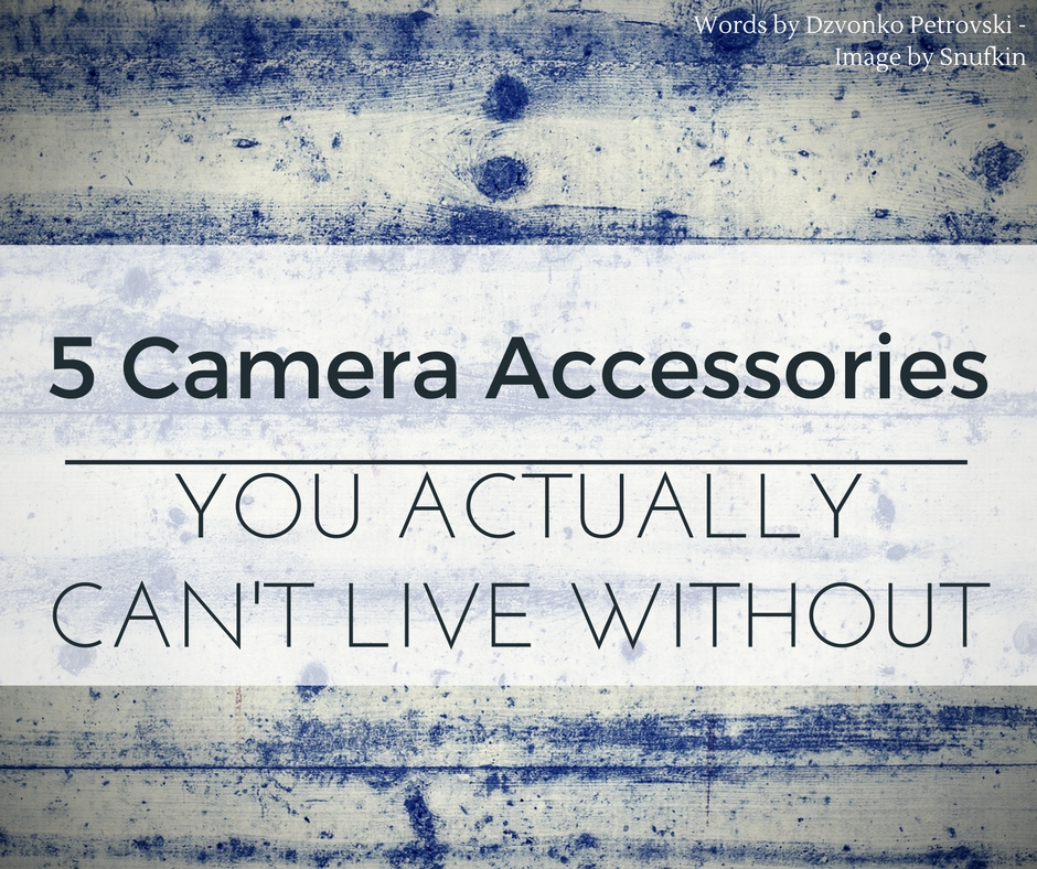 best dslr camera accessories