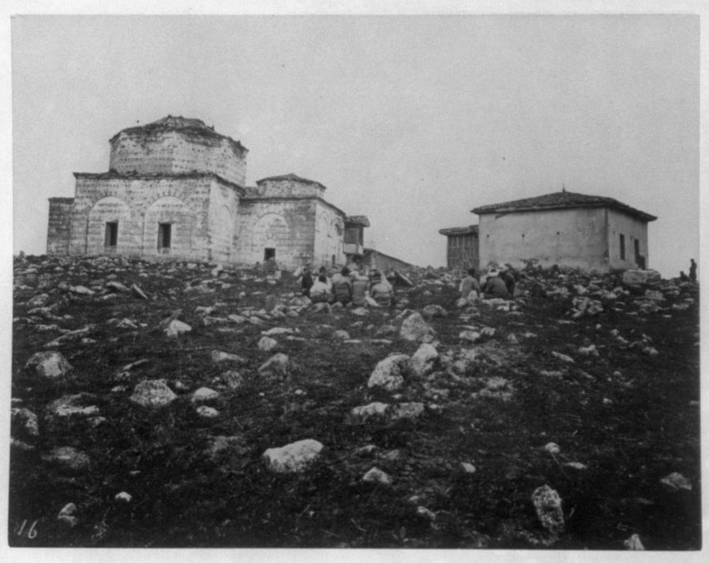 [A mausoleum located between Bursa and Yenişehir] / Constantinople, Abdullah Frères