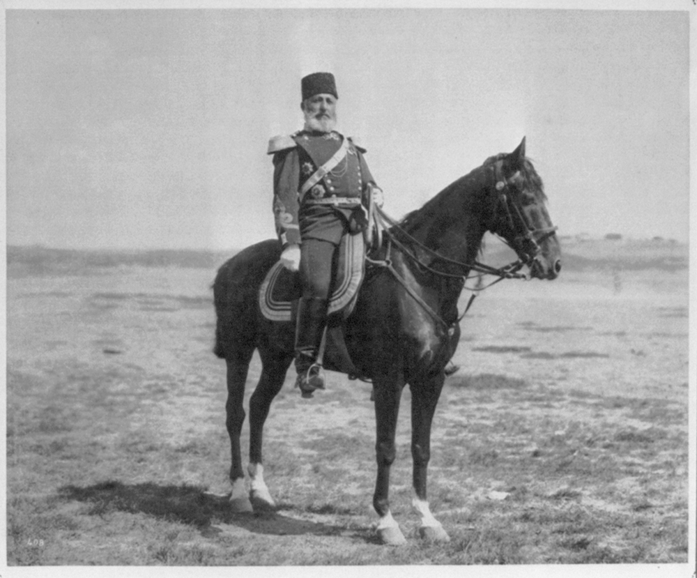 [Ali Paşa, Divisional Commander of the Lancers of the Imperial Guard] / Abdullah Frères, Phot., Constantinople