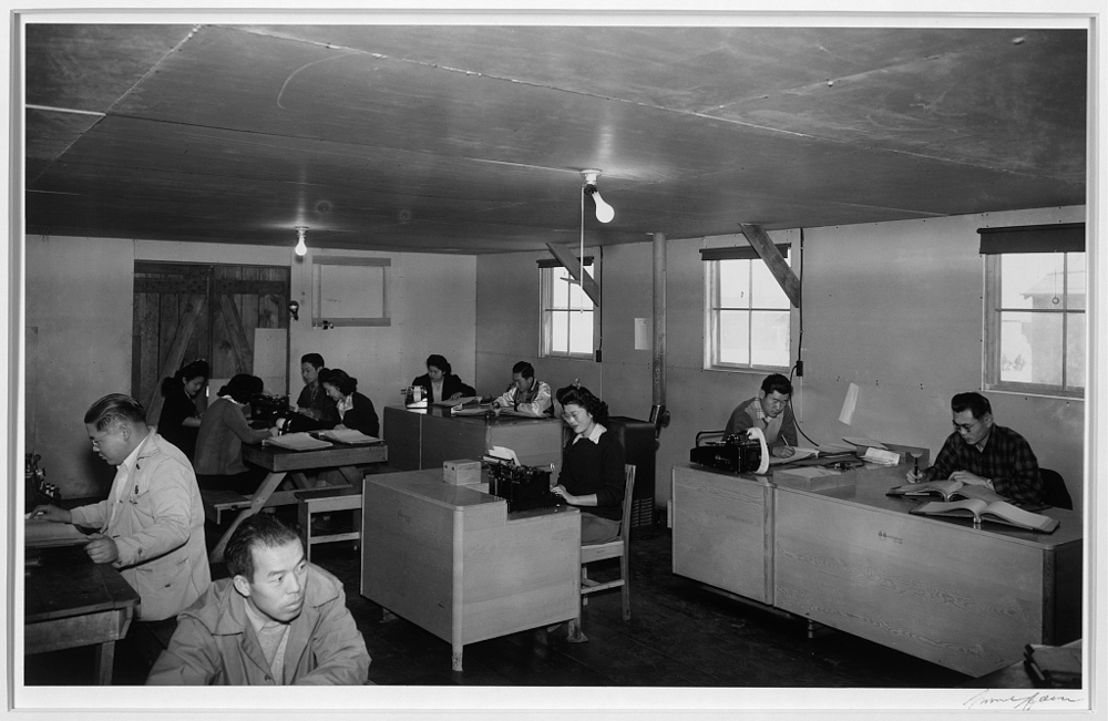 Co-op enterprise office, Manzanar Relocation Center