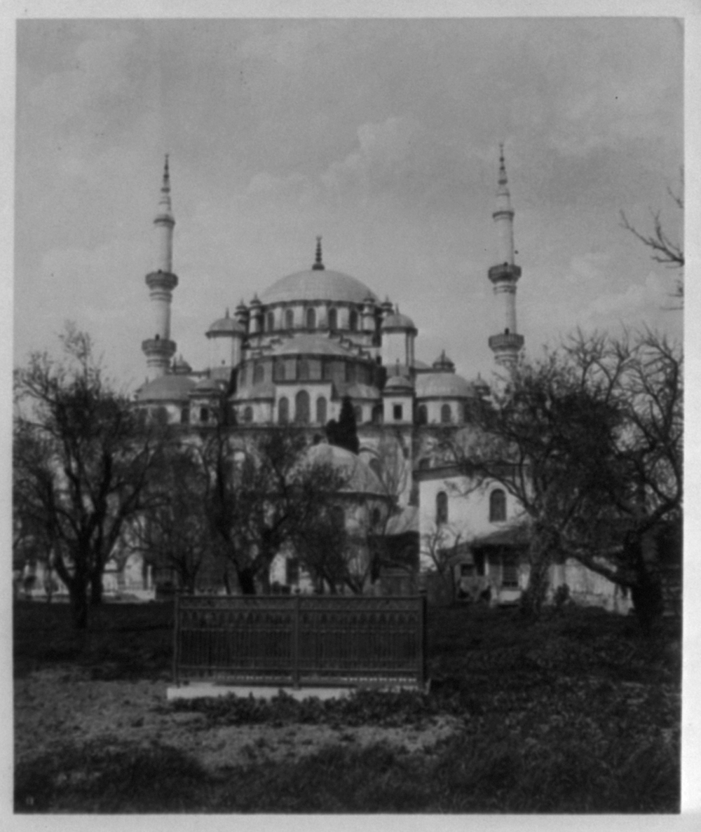 [Exterior view of the Fatih Camii (mosque) i.e., Sultan Mehmed] / Abdullah Frères, Phot., Constantinople