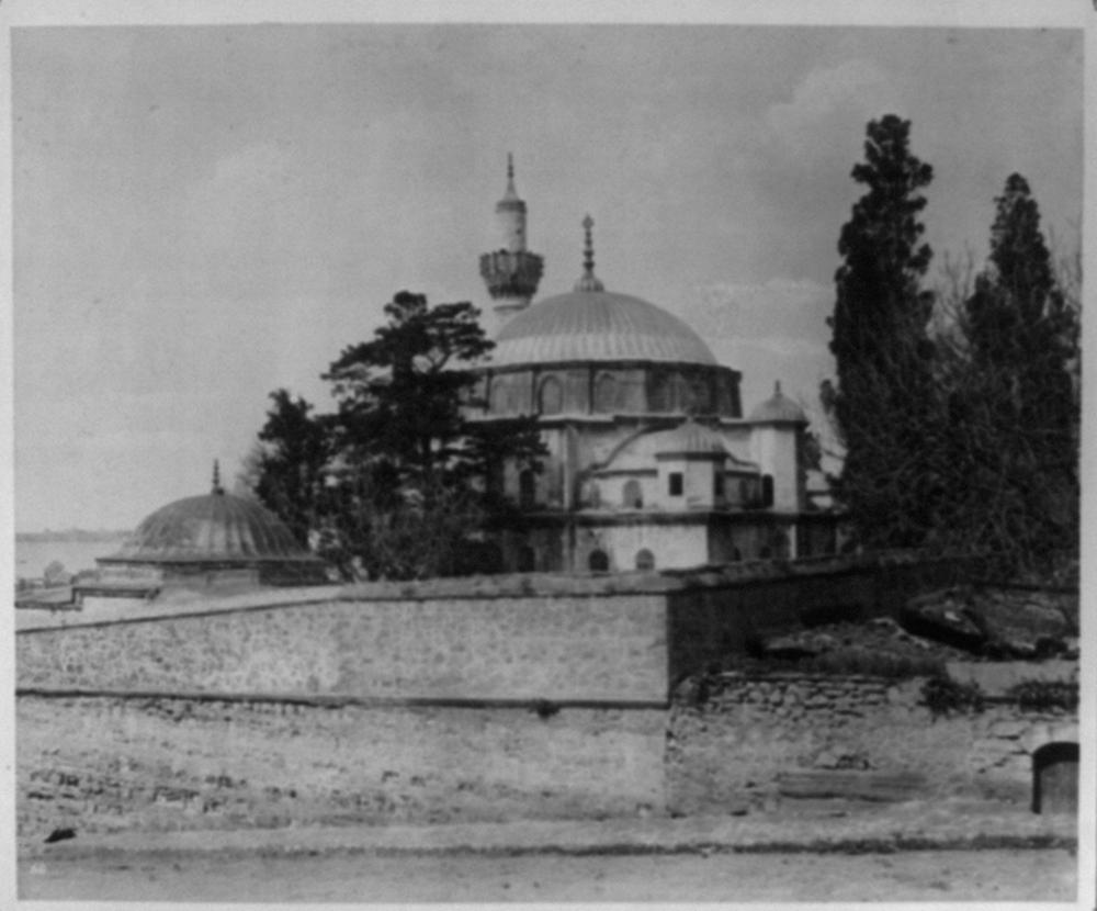 [Exterior view of the Sokollu Mehmed Paşa Camii (mosque)] / Abdullah Frères, Phot., Constantinople