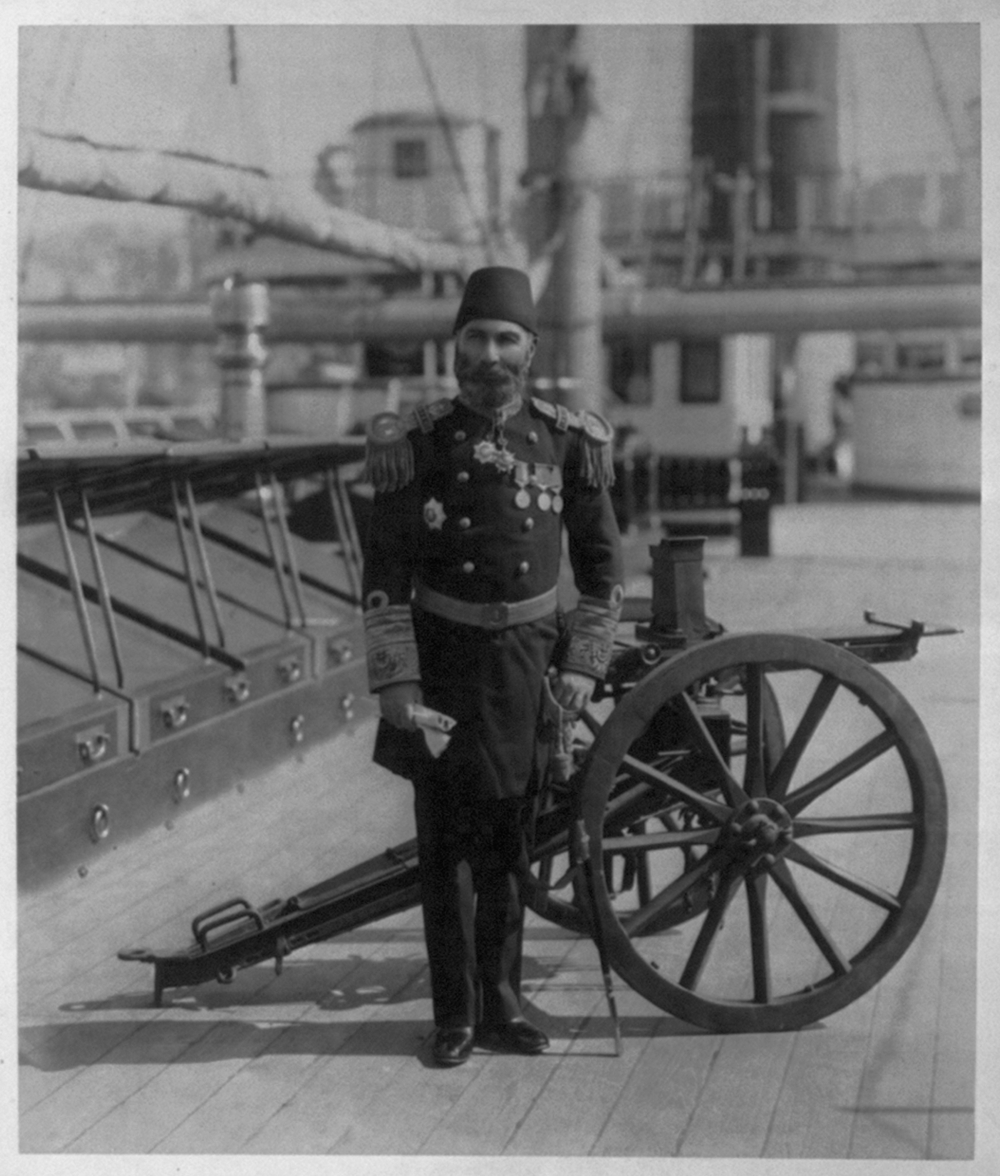 [General Mehmed Paşa, Commander of the Imperial Ironclad Fleet] / Constantinople, Abdullah Frères