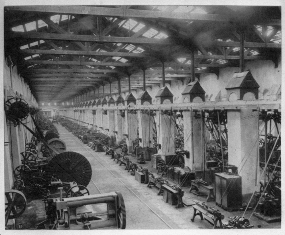 [Interior view of the Tophane Factory] / Constantinople, Abdullah Frères