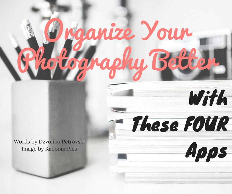 organize your photography