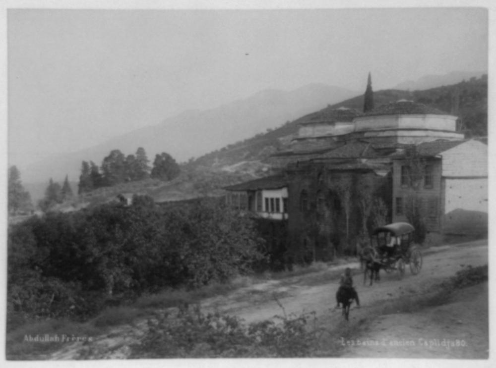 [The Eski Kaplıca (Old Thermal Spring) in Bursa] / Abdullah Frères
